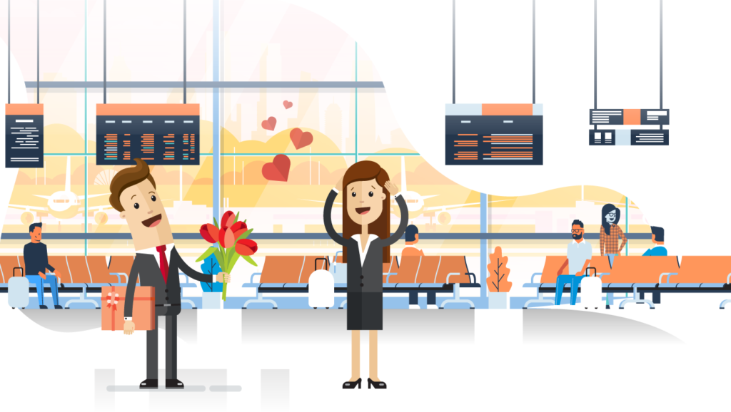 5 surprise to welcome your loved one at the airport