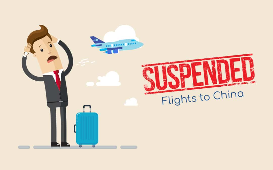 Airlines/Countries List That Have Suspended Their Flight to China