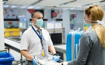 Health Security Precautions by Airports and Airlines in USA to Battle Corona Virus Pandemic