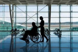 Disabled People Airport